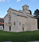 the Monastery of Decan Kosove