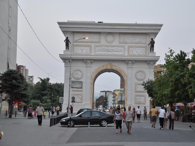 travel to Skopje Macedonia