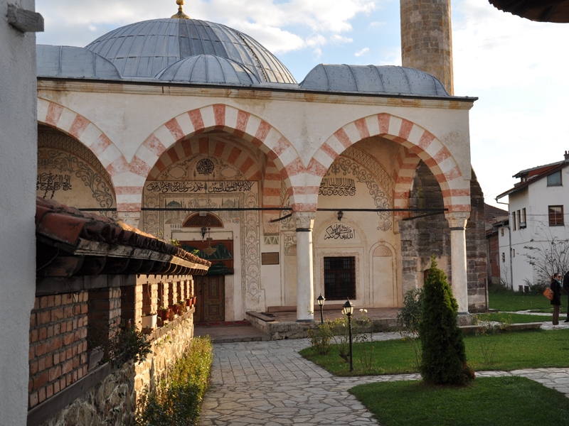 visit the Hadumi Mosque Kosovo