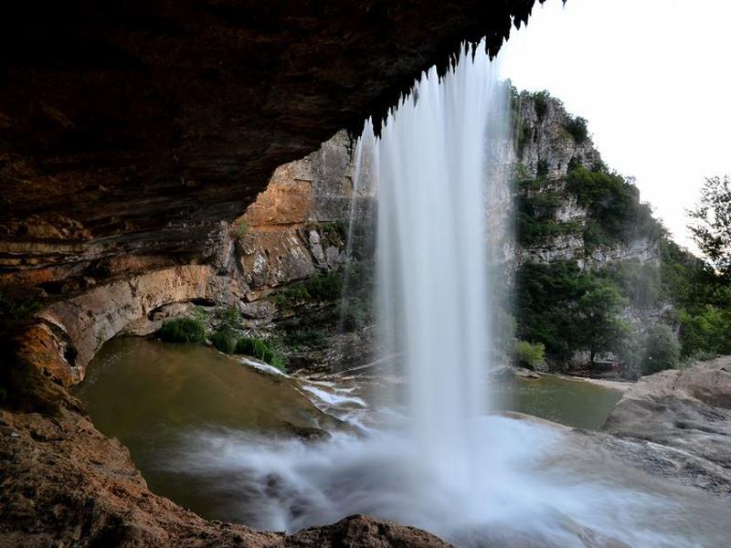 Mirusha waterfall, Gremnik Mountains